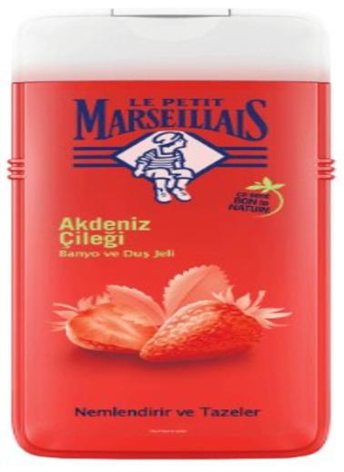 Le Petit Marseilials Le Petit Marseillais Duş Jeli Akdeniz Çileği 650 ml Renksiz